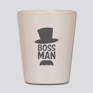 Boss Man Shot Glass